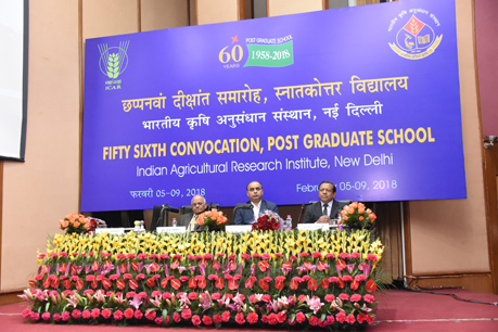 IInd Day of 56th Convocation at IARI