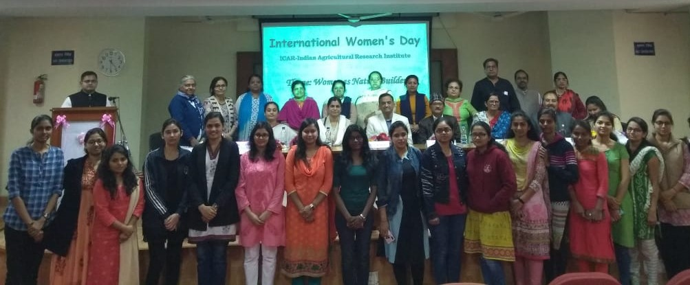 Celebrating International Women's Day at ICAR-IARI