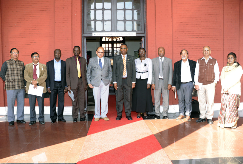 Delegation from Uganda's National Planning Authority