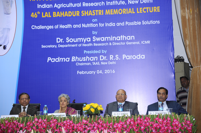 46th Lal Bahadur Shastri Memorial Lecture 2016