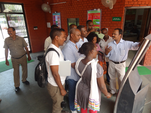Visit of Ethiopian Delegation to ATIC on 20.8.2015