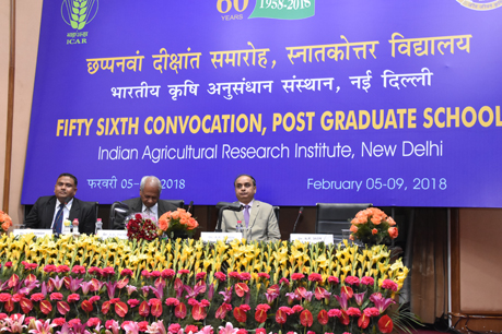 3rd day of 56th IARI convocation