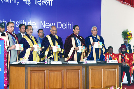 Release of publication during Convocation