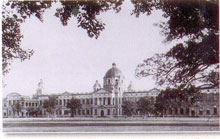 The Agricultural Research Institute originally established at Pusa, Bihar, popularly known as 'Naulakha'