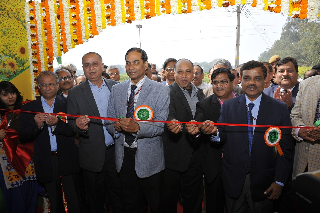 Secretary DARE & DG ICAR and other dignitaries inaugurating Pusa Krishi Vigyan Mela 2019