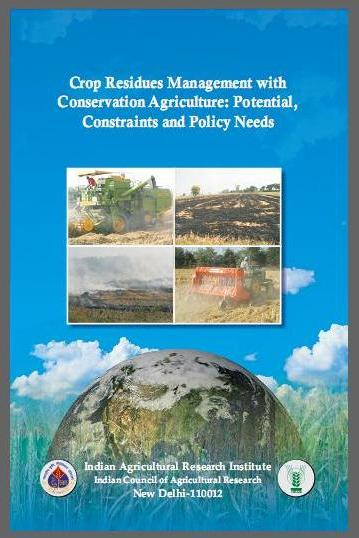 Crop Residues Management with Conservation Agriculture: Potential, Constraints and Policy Needs
